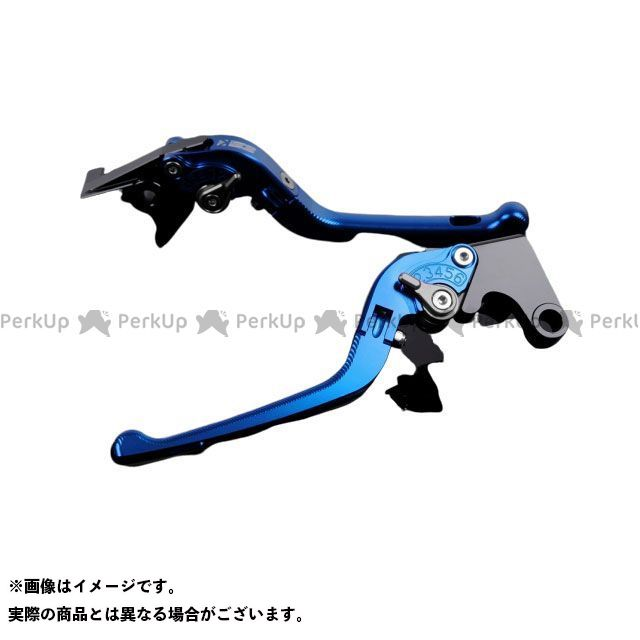エスエスケー SSK レバー ハンドル 大人気! 無料雑誌付き YZF-R1 買取 レバー本体:ブルー アジャスター:チタン アルミビレットアジャストレバーセット 3D可倒式