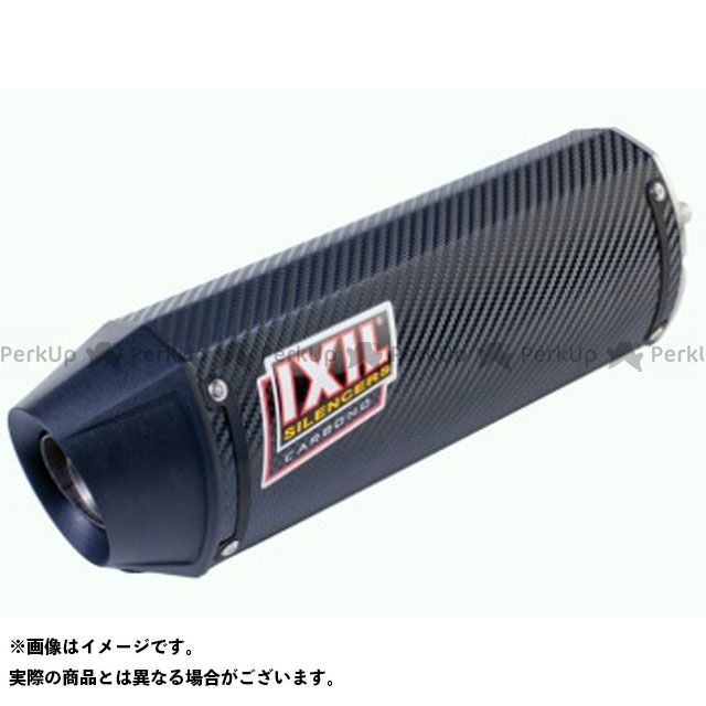 【エントリーで更にP5倍】IXIL VTR250 マフラー本体 ホンダ VTR 250i(10-12) INJECTION FULL LINE 仕様:カーボン イクシル