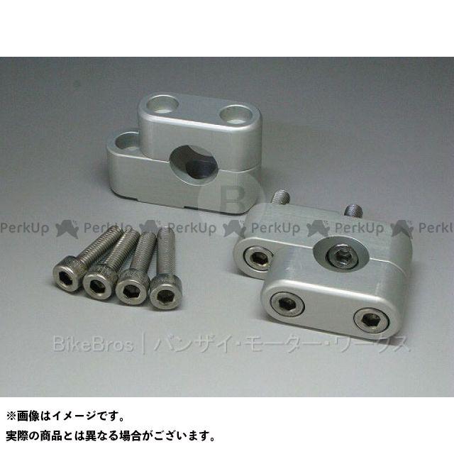 Banzai Motor Works R1150GS ハンドル周辺パーツ 【売り尽くしセール】 BMW R1150GS用 ハンドルバー調整キット(上23ミリ・手前16ミリ) Mタイプ