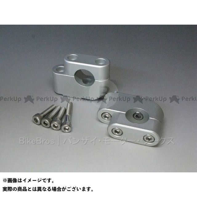Banzai Motor Works R1200GS ハンドル周辺パーツ 【売り尽くしセール】 BMW R1200GS用 ハンドルバー調整キット(上35ミリ・手前19ミリ) Rタイプ