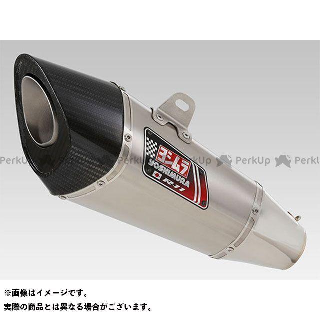 YOSHIMURA マフラー本体 Slip-On R-11 サイクロン 1エンド EXPORT SPEC 政府認証(ヒートガード付属) SSF ヨシムラ