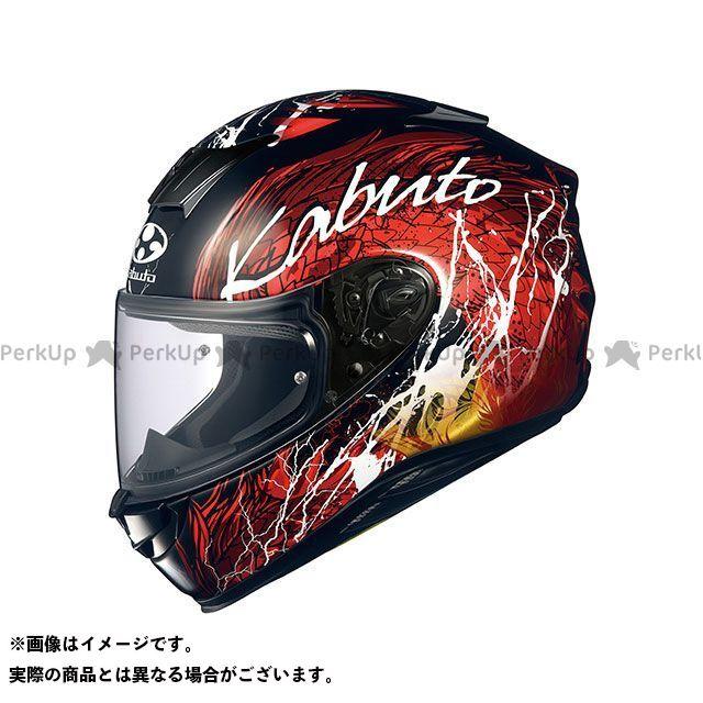 送料無料 OGK KABUTO オージーケーカブト フルフェイスヘルメット AEROBLADE-5 DRAGON(エアロブレード・5 ドラゴン) ブラック/レッド XXL/62cm以上