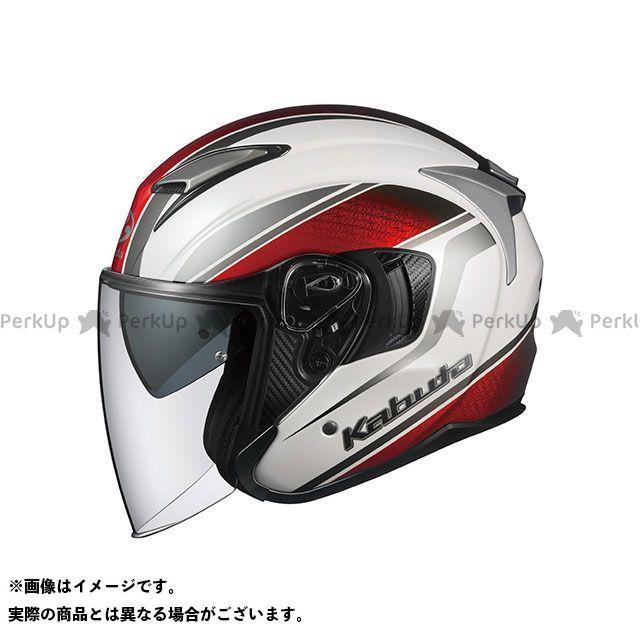 オージーケーカブト ジェットヘルメット EXCEED DEUCE(エクシード・デュース) パールホワイト XL OGK KABUTO
