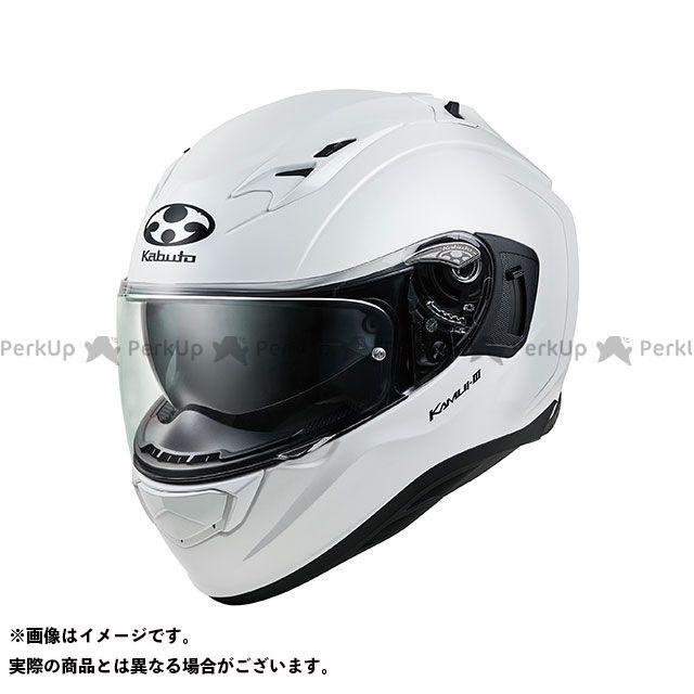 送料無料 OGK KABUTO オージーケーカブト フルフェイスヘルメット KAMUI-III(カムイ・3) パールホワイト XL