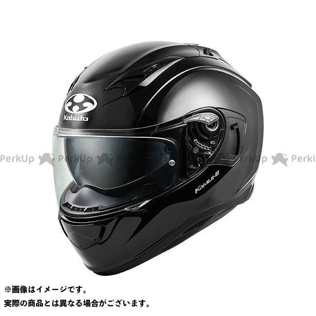送料無料 OGK KABUTO オージーケーカブト フルフェイスヘルメット KAMUI-III(カムイ・3) ブラックメタリック M