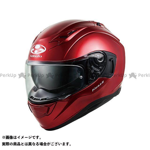 送料無料 OGK KABUTO オージーケーカブト フルフェイスヘルメット KAMUI-III(カムイ・3) シャイニーレッド M