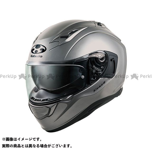 OGK KABUTO フルフェイスヘルメット KAMUI-III(カムイ・3) クールガンメタ サイズ:XL OGK KABUTO