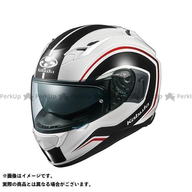 送料無料 OGK KABUTO オージーケーカブト フルフェイスヘルメット KAMUI-III KNACK(カムイ・3 ナック) ホワイト/ブラック XS