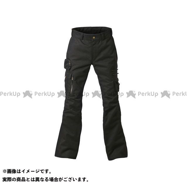 【エントリーで最大P21倍】フリーフリー パンツ F2DP-1501 カーゴライディングパンツ(ブラック) サイズ:LL FREE FREE