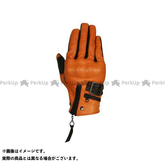 フリーフリー レザーグローブ F2G-1505 プロテクションレザーグローブ カラー:オレンジ/ブラック サイズ:レディースL FREE FREE