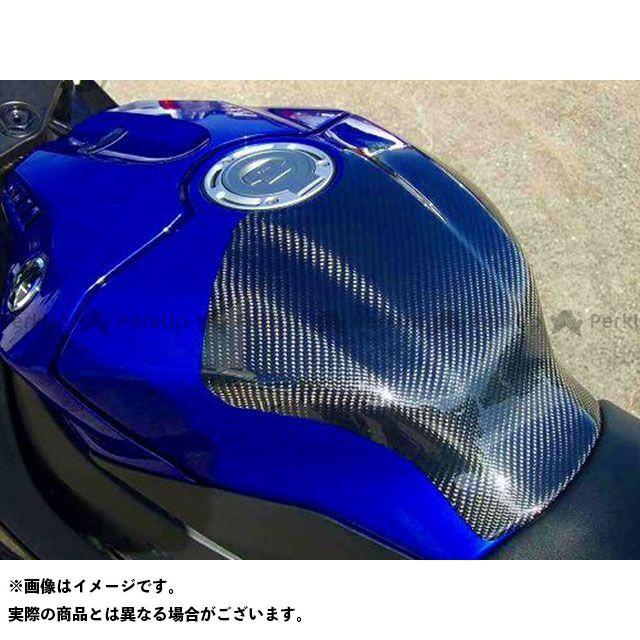 CLEVERWOLF YZF-R1 ドレスアップ・カバー タンクプロテクター 素材:カーボン綾織 クレバーウルフ