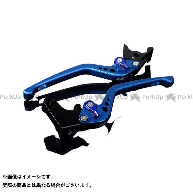 エスエスケー SSK レバー 日本産 ハンドル 無料雑誌付き デイトナ675R アルミビレットアジャストレバーセット レバー本体:マットブルー スピードトリプルR アジャスター:マットブルー 3Dロング 超激安 スピードトリプル