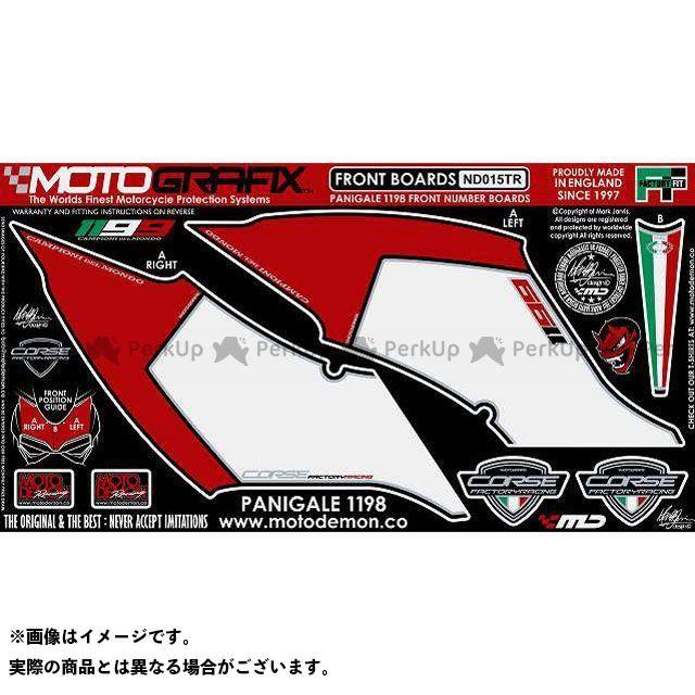 【エントリーで最大P21倍】MOTOGRAFIX 1199パニガーレ ドレスアップ・カバー ボディパッド Front ドゥカティ タイプ:ND015TR モトグラフィックス
