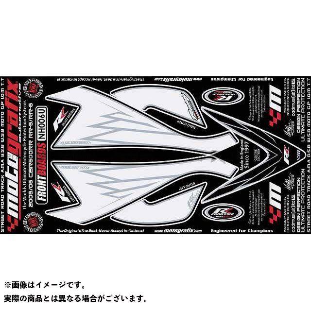 【エントリーで最大P21倍】MOTOGRAFIX CBR600RR ドレスアップ・カバー NH006U ボディパッド Front ホンダ モトグラフィックス