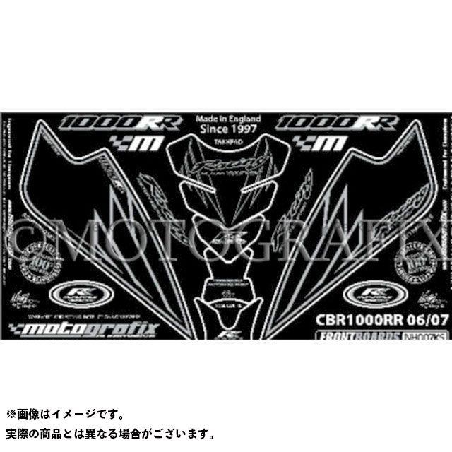 【エントリーで最大P21倍】MOTOGRAFIX CBR1000RRファイヤーブレード ドレスアップ・カバー ボディパッド Front&Tank Pad ホンダ タイプ:NH007KS モトグラフィックス