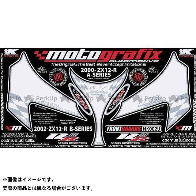 【エントリーで最大P21倍】MOTOGRAFIX ニンジャZX-12R ドレスアップ・カバー NK002U ボディパッド Front カワサキ モトグラフィックス