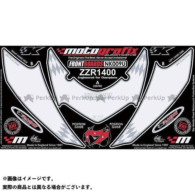 【エントリーで最大P21倍】MOTOGRAFIX ZZR1400 ドレスアップ・カバー ボディパッド Front カワサキ タイプ:NK009U モトグラフィックス