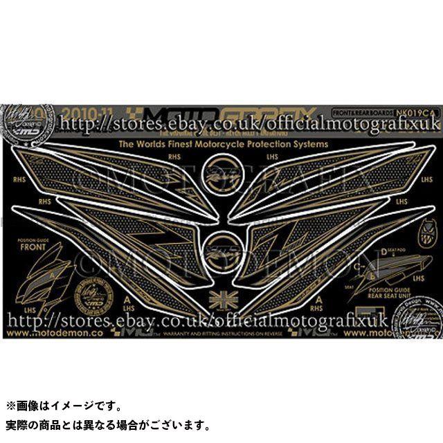 MOTOGRAFIX Z1000 ドレスアップ・カバー ボディパッド Front カワサキ NK019CA モトグラフィックス