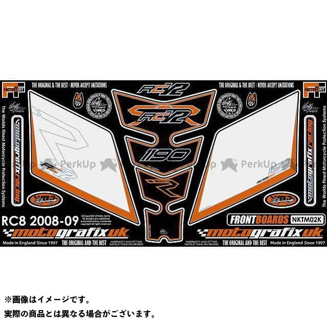 MOTOGRAFIX 1190 RC8 R ドレスアップ・カバー ボディパッド Front&Tankpad KTM タイプ:NKTM02K モトグラフィックス