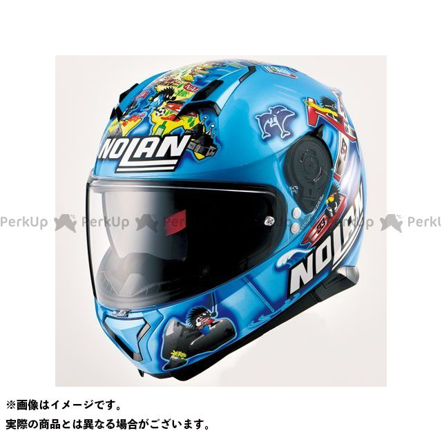 送料無料 NOLAN ノーラン フルフェイスヘルメット N87 メランドリ イタリー/78 L