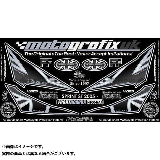 【エントリーで最大P21倍】MOTOGRAFIX スプリントST ドレスアップ・カバー ボディパッド Front トライアンフ タイプ:NT004MJ モトグラフィックス