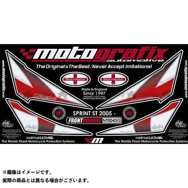【エントリーで最大P21倍】MOTOGRAFIX スプリントST ドレスアップ・カバー ボディパッド Front トライアンフ タイプ:NT004SG モトグラフィックス