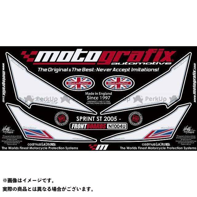 MOTOGRAFIX スプリントST ドレスアップ・カバー ボディパッド Front トライアンフ タイプ:NT004U モトグラフィックス