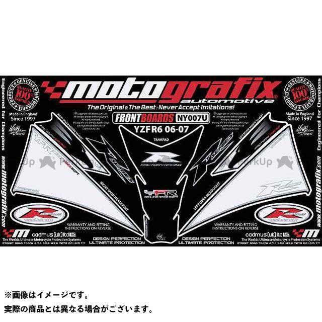 【エントリーで最大P21倍】MOTOGRAFIX YZF-R6 ドレスアップ・カバー NY007U ボディパッド Front&Tankpad ヤマハ モトグラフィックス