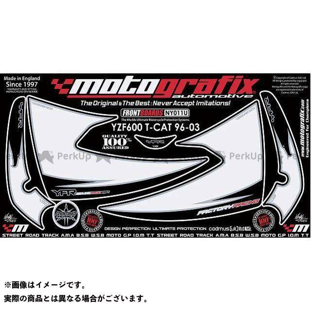 【エントリーで最大P21倍】MOTOGRAFIX YZF600Rサンダーキャット ドレスアップ・カバー NY011U ボディパッド Front ヤマハ モトグラフィックス