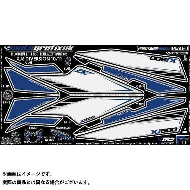 【エントリーで最大P21倍】MOTOGRAFIX XJ6ディバージョン XJ6ディバージョンF ドレスアップ・カバー ボディパッド Front&Rear ヤマハ タイプ:NY013B モトグラフィックス