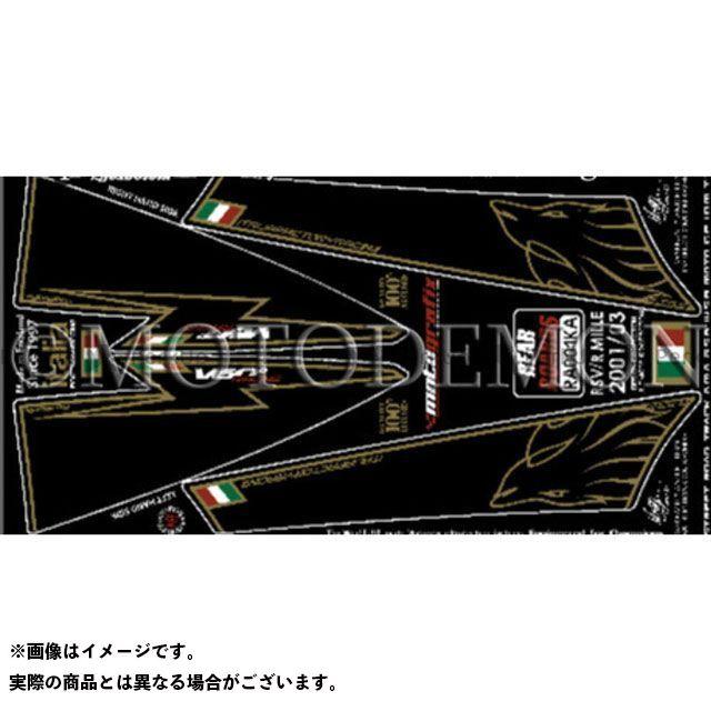 MOTOGRAFIX RSV1000 RSV1000R ドレスアップ・カバー ボディパッド Rear アプリリア タイプ:RA001KA モトグラフィックス