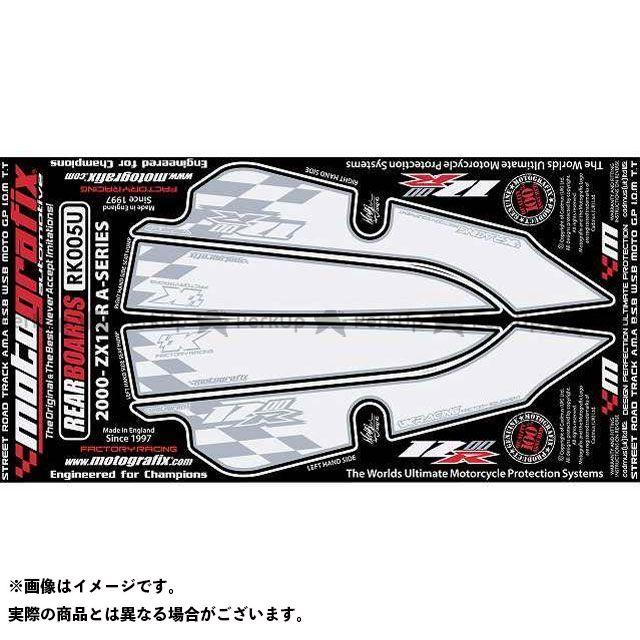【エントリーで最大P21倍】MOTOGRAFIX ニンジャZX-12R ドレスアップ・カバー RK005U ボディパッド Rear カワサキ モトグラフィックス