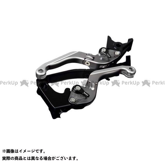 送料無料 エスエスケー YZF-R6 レバー アルミビレットアジャストレバーセット 可倒延長式(レバー本体:マットチタン) マットブラック マットシルバー