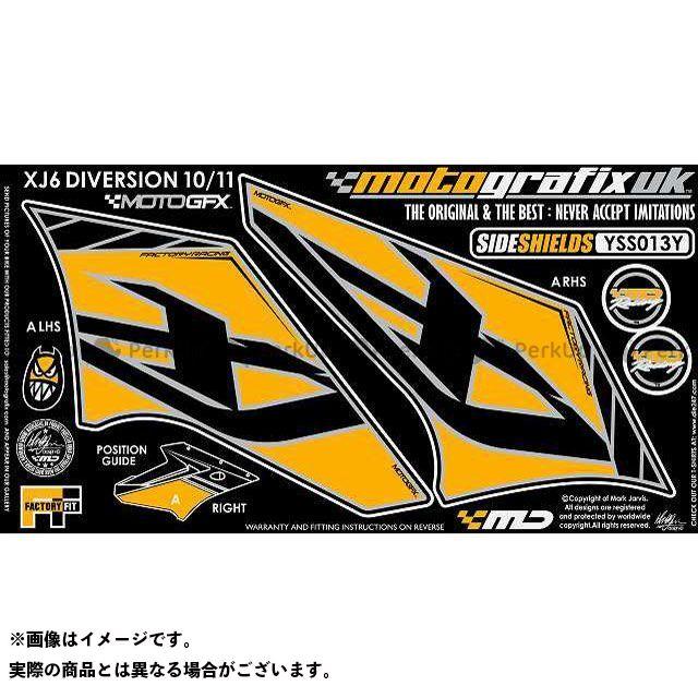 【エントリーで最大P21倍】MOTOGRAFIX XJ6ディバージョン XJ6ディバージョンF ドレスアップ・カバー ボディパッド Side Shield(3D) ヤマハ タイプ:YSS013Y モトグラフィックス
