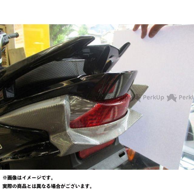 ユカン アドレスV125S ドレスアップ・カバー V125S テールガーニッシュ(シルバーカーボン) 油漢