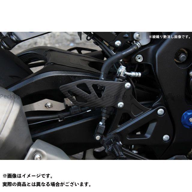 エスエスケー GSX-R1000 その他外装関連パーツ ヒールプレート 純正タイプ 左右セットドライカーボン 仕様:綾織り艶消し SSK