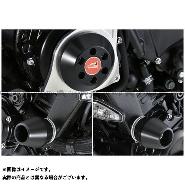 AGRAS スライダー類 レーシングスライダー 3点セット フレームφ60+ジェネレーターC カラー:ジュラコン/ブラック アグラス