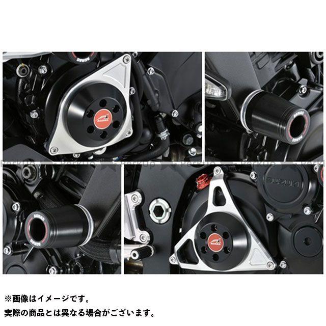 AGRAS カタナ スライダー類 レーシングスライダー 4点セット フレームφ50+ジェネレーターC+クラッチタイプ2 ジュラコン/ブラック ロゴ無 アグラス