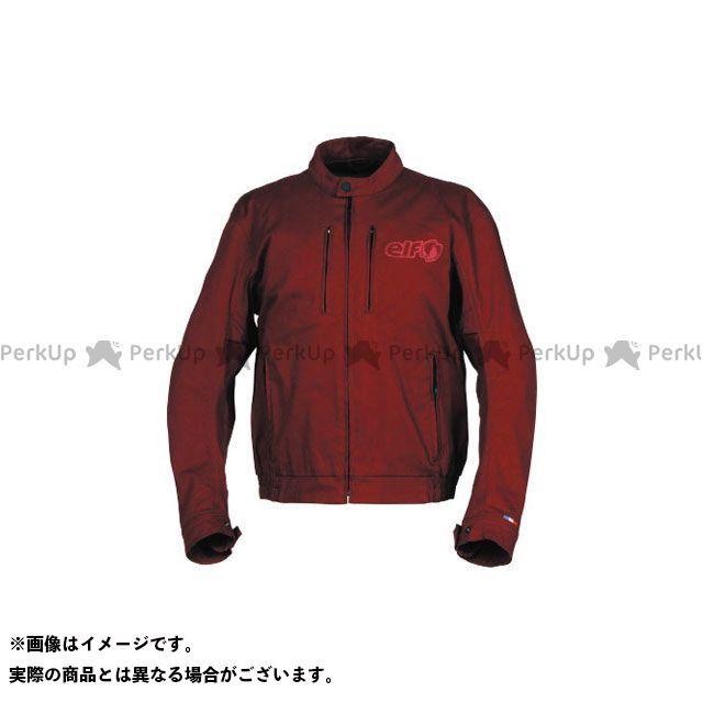 エルフ ライディングウェア ジャケット 2019春夏モデル EL-9221 コンフォートストレッチジャケット(レッド) サイズ:3L elf riding wear