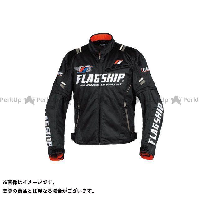 FLAGSHIP ジャケット 2019春夏モデル FJ-S194 アーバンライドメッシュジャケット(ブラック/ホワイト) サイズ:M FLAGSHIP