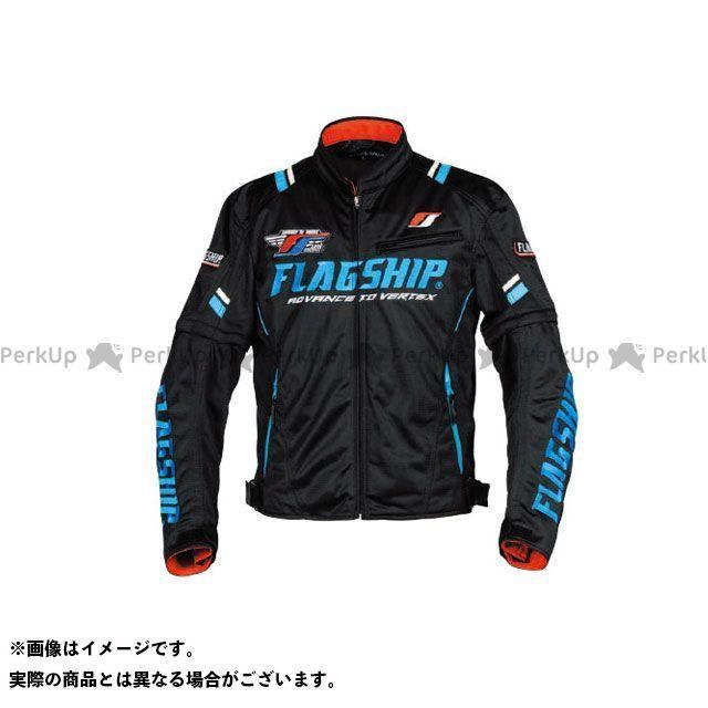 FLAGSHIP ジャケット 2019春夏モデル FJ-S194 アーバンライドメッシュジャケット(ブラック/ブルー) サイズ:S FLAGSHIP