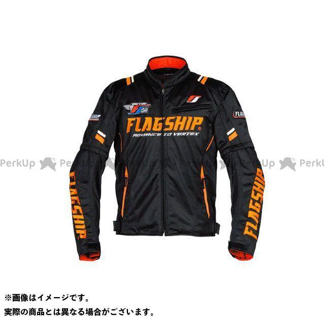 FLAGSHIP ジャケット 2019春夏モデル FJ-S194 アーバンライドメッシュジャケット(ブラック/オレンジ) サイズ:M FLAGSHIP