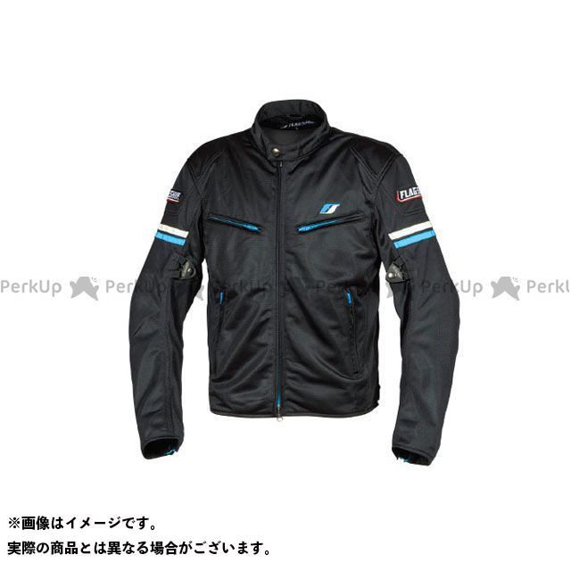 FLAGSHIP ジャケット 2019春夏モデル FJ-S195 スマートライドメッシュジャケット(ブルー) サイズ:M FLAGSHIP