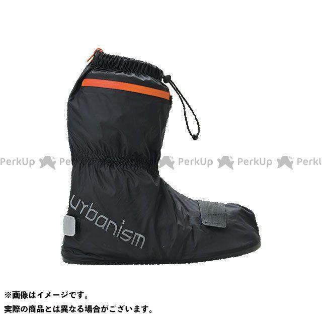 アーバニズム urbanism 低廉 ブーツカバー バイクシューズ ブーツ 低価格化 UNR-304 サイズ:XL オレンジ ブラック シューズカバー アーバンレイン
