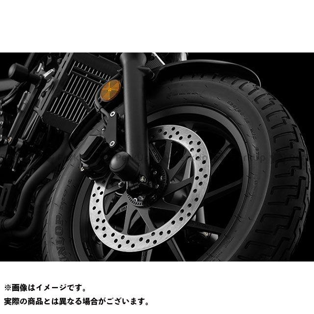 BIKERS レブル250 レブル500 その他サスペンションパーツ H0445 FRアクスルプロテクター カラー:ブラック バイカーズ