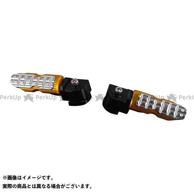 【無料雑誌付き】BIKERS ニンジャ250SL Z250SL タンデムステップ関連パーツ K0313 リアタンデムステップ カラー:オレンジゴールド バイカーズ