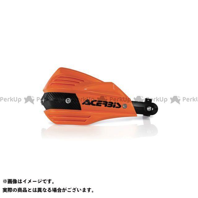 アチェルビス ACERBIS ハンドル周辺パーツ ハンドル ACERBIS 汎用 ハンドル周辺パーツ AC-17557 X-FACTORハンドガード(オレンジ×ブラック)  アチェルビス