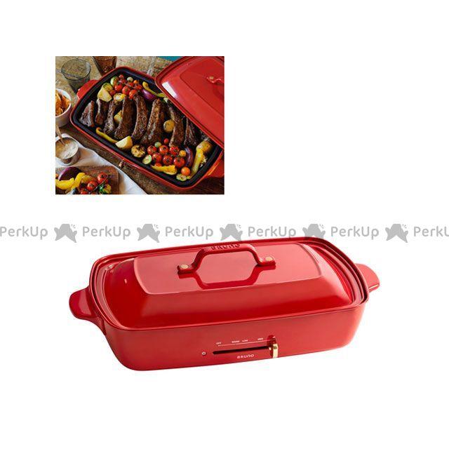 ブルーノ BRUNO 発売モデル 公式ショップ キッチン用品 雑貨 ホットプレートグランデサイズ 日用品 レッド