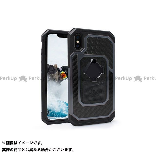ロックフォーム 小物・ケース類 スマートフォンケース iPHone XS/X アルミニウムケース Fuzion Pro ガンメタル Rokform