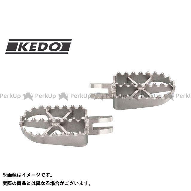 ケドー KEDO ステップ キャンペーンもお見逃しなく スタンド 無料雑誌付き エンデューロスタイル XSR900 フロント用フットペグ 格安SALEスタート ステンレス製 MT-09